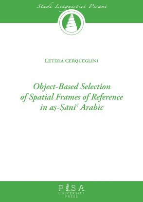 Object-based selection of spatial frames of reference in aṣ-Ṣāniˁ Arabic
