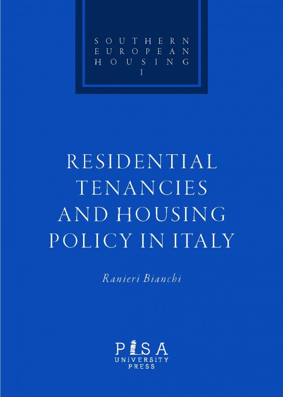 Residential Tenancies and Housing Policy in Italy