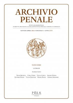 Archivio Penale