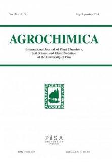 AGROCHIMICA 3 2014