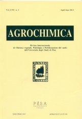 Agrochimica n. 2-2013