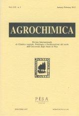 Agrochimica n. 3 2012