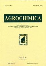 Agrochimica 4-5 2012