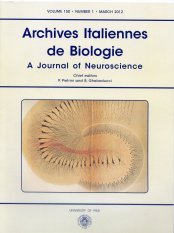 Archives Italiennes de Biologie n. 1 2012