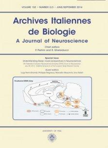 ARCHIVES ITALIENNES DE BIOLOGIE N. 2/3 2014