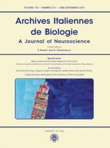 ARCHIVES ITALIENNES DE BIOLOGIE N. 2/3 2015