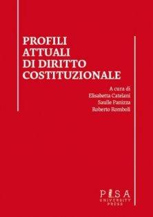 Profili attuali di diritto costituzionale